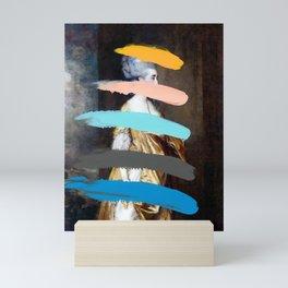 Composition 736 Mini Art Print
