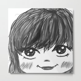 kawaii!1!! Metal Print