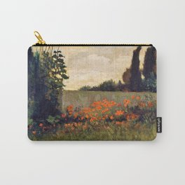 Cypress And Poppies - Elihu Vedder Carry-All Pouch