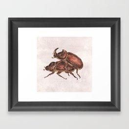 love is everywhere Framed Art Print