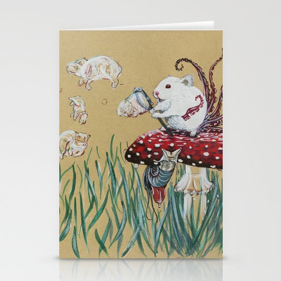 Simply Blow Stationery Cards