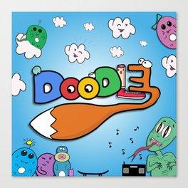 Doodle! Canvas Print