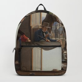 Constantin Hansen - A Group of Danish Artists in Rome Backpack