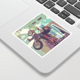 Beach Bike Sticker