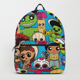 Latinx Pop Culture Backpack