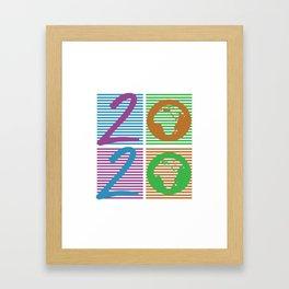 World changer 2020 Framed Art Print