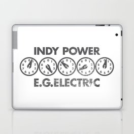 E.G. Electric Indy Power Laptop & iPad Skin