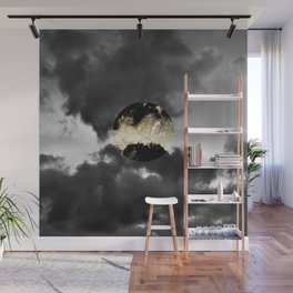 Mystical Moon #1 #gold #black #decor #art #society6 Wall Mural