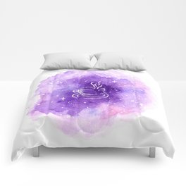 THERE'S COFFEE IN THAT NEBULA Comforters