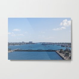 Bahamas Cruise Series 95 Metal Print