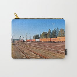 Summerau railway station | architectural photography Carry-All Pouch