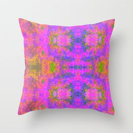 Sedated Abstraction II Throw Pillow