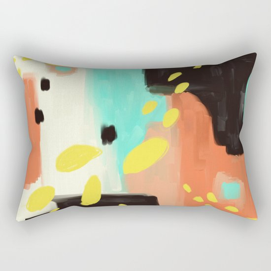Wait For More Rectangular Pillow