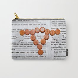 Birth Control Carry-All Pouch