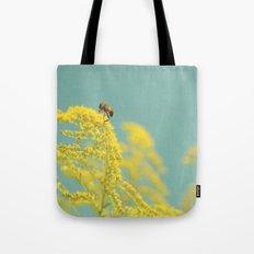 Happy Be(e) Tote Bag