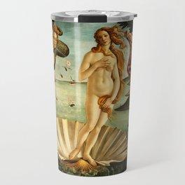 Sandro Botticelli The Birth Of Venus Travel Mug