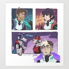 Voltron Legendary Memer Art Print