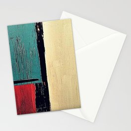 minimal painting, colours abstract bright Stationery Cards
