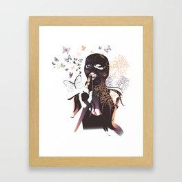 Killing me Softly Framed Art Print