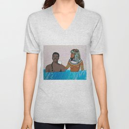 The Royal Penis is Clean Unisex V-Neck