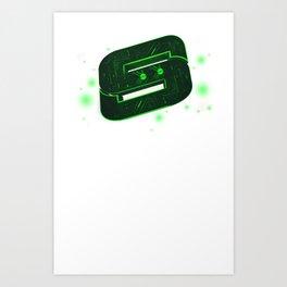 Storm Tech Green Art Print