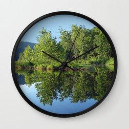 Crystal Clear Lake Killarney Wall Clock