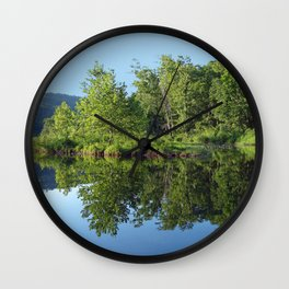 Crystal Clear Lake Killarney Wall Clock