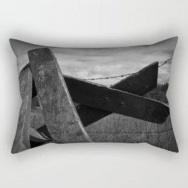 Discarded Rectangular Pillow