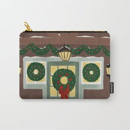 Rustic Christmas Night Carry-All Pouch