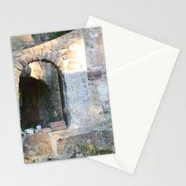 Smoking Ruins Stationery Cards