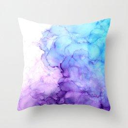 Handful of Clouds II Throw Pillow