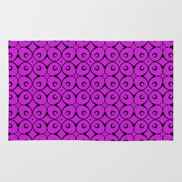 My Lucky Day Dazzling Violet Rug