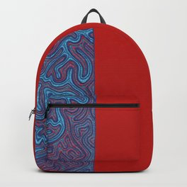 Stitches - Coral Backpack