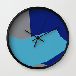 Minimalism Abstract Colors #2 Wall Clock