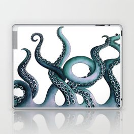 Kraken Teal Laptop & iPad Skin