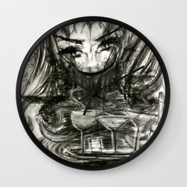 Toxic Reflection Wall Clock