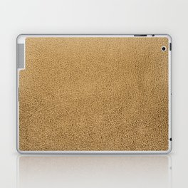 Gold leather texture Laptop & iPad Skin