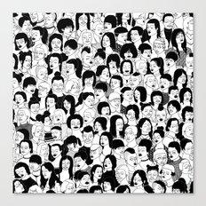 Girlz Canvas Print