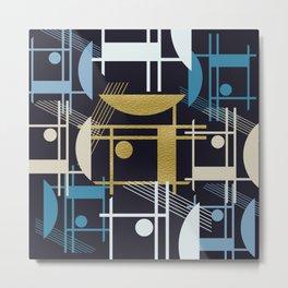 Blue Shades Metal Print