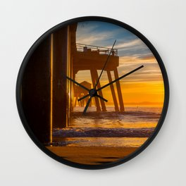 The End of the Pier Wall Clock