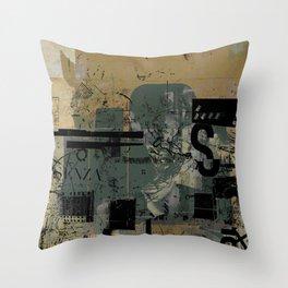 misprint 58 Throw Pillow