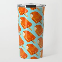 Popsicle Pattern - Creamsicle Travel Mug