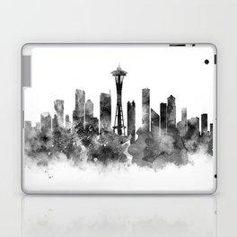 Seattle Black and White Laptop & iPad Skin