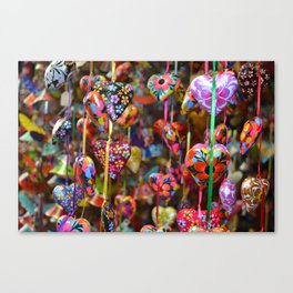Colors of Mexico Canvas Print