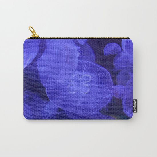 Moon Jelly Fish Carry-All Pouch