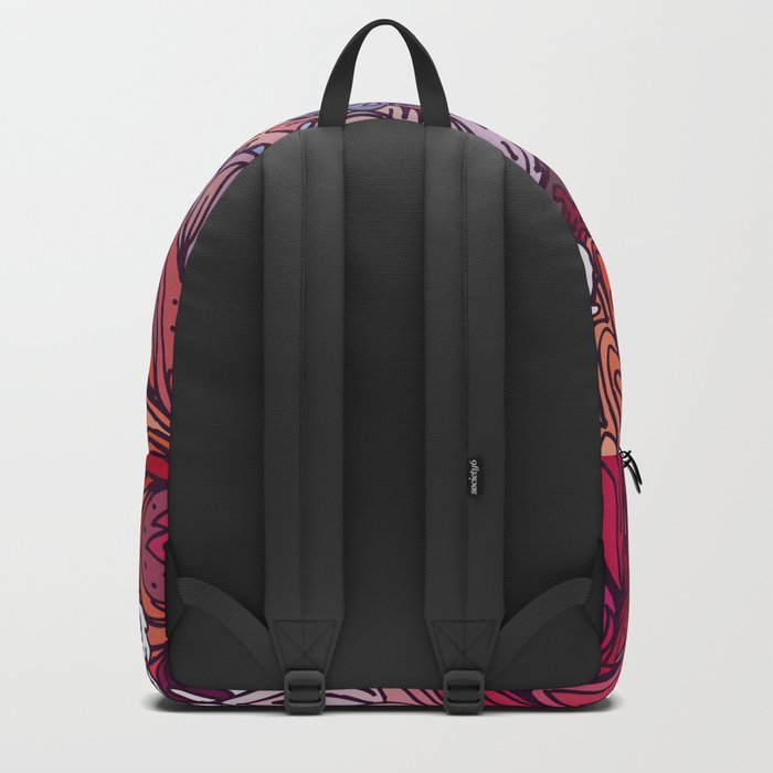 Indian Pattern 03 Backpack