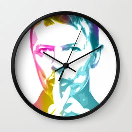 David 'Starman' Bowie 2 Wall Clock