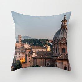 Chiesa dei Santi Luca e Martina Throw Pillow