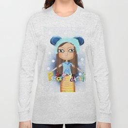 Winter Snow ball Restart Yourself Long Sleeve T-shirt