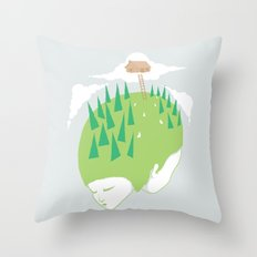We know a place Throw Pillow
